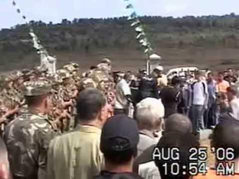 Ré-inhumation du Chahid de l'ALN, Mohand Ouïdir Azirou (Part 1).