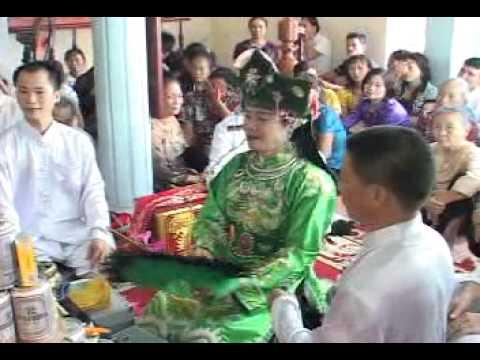 chầu đệ nhị hát văn NSƯT Văn Chương Đồng  Thầy Nguyễn Bá Hạ