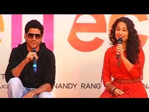 Farhan and Vidya promote 'Shaadi Ke Side Effects' on a hot air balloon