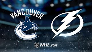 Hedman, Stamkos lead Bolts to 5-2 rout of Canucks