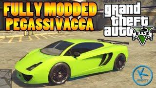 GTA 5 Fully Modified: PEGASSI VACCA ( LAMBORGHINI GALLARDO