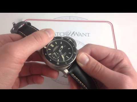 Panerai Luminor 1950 Submersible Amagnetic PAM 389 Luxury Watch Review