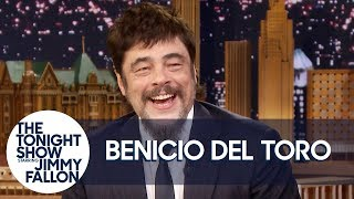 "Benicio Del Toro Reacts to Guardians of the Galaxy Fans ""Riding Him"" at Disneyland"