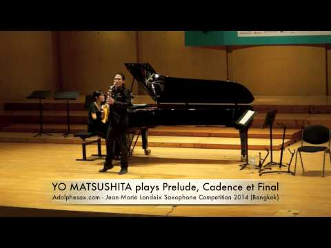 YO MATSUSHITA plays Prelude, Cadence et Final by Alfred Desenclos