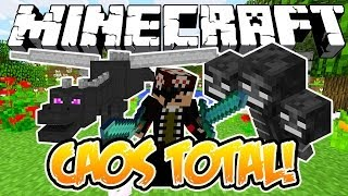 CAOS TOTAL! - Minecraft (NOVO)