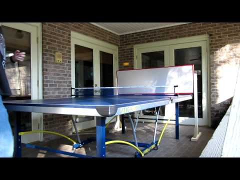 DIY table tennis return board