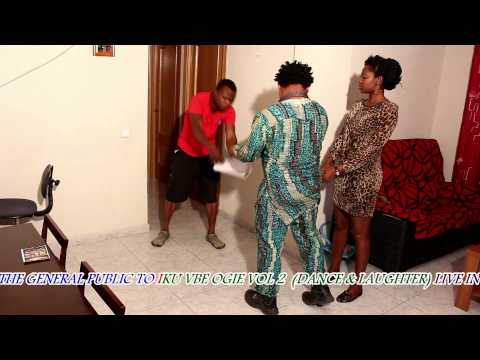 IKU VBE OGIE VOL 2 (DANCE & LAUGHTER ) LIVE IN MADRID PROMO