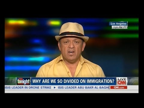 Don Lemon Tells Paul Rodriguez He Can't Want to Deport Illegals Because He's an Immigrant!
