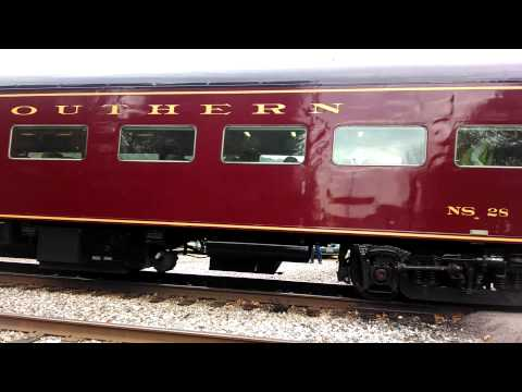 All Aboard the 630 Steam Engine Train