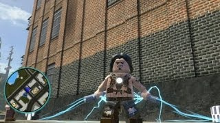 LEGO Marvel Super Heroes Unlocking Whiplash + Gameplay