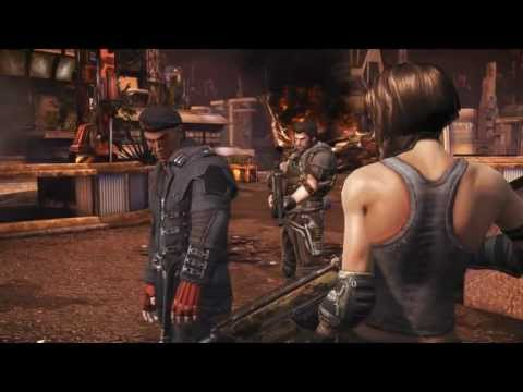 """Bulletstorm"", HD walkthrough (Very Hard), Act 5 - Burnout Paradise,Ch.3-I see we're all a bit upset"