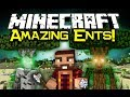 Minecraft FOREST ENTS MOD Spotlight! - Part Of Mo' Creatures! (Minecraft Mod Showcase)