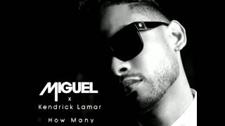Miguel - How Many Drinks? (Audio) ft. Kendrick Lamar