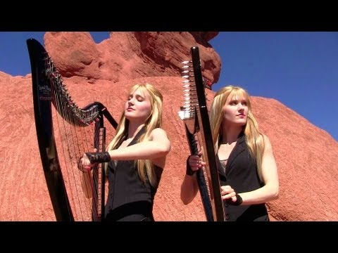 METALLICA - Nothing Else Matters (Harp Twins) Camille and Kennerly