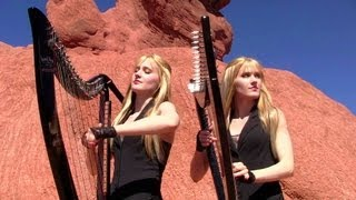 METALLICA - Nothing Else Matters - Harp Twins (Camille and Kennerly) HARP METAL