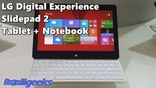 LG Slidepad 2 O Híbrido Que é Tablet E Notebook