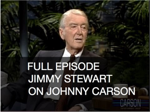 Full Episode: Jimmy Stewart, Bob Saget, Johnny Carson's Tonight Show 1-4-89