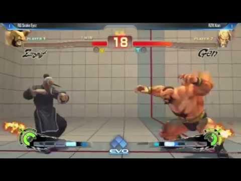 Evo Hype Moment - Xian vs Snake Eyez (Protect Your Ears)