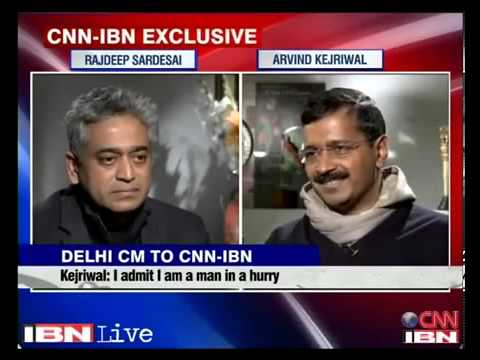 Arvind Kejriwal s interview with Rajdeep Sardesai @ CNN IBN | Exclusive Latest Interview