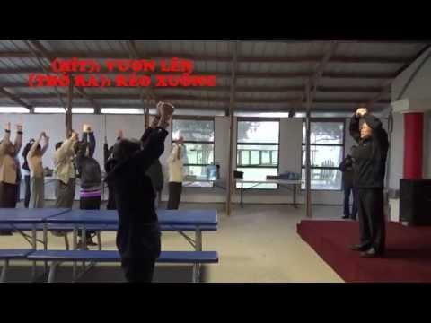 TẬP THỂ DỤC DƯỠNG SINH - KHOÁ THIÊN KHÍ NĂNG - DỊCH CÂN KINH, Bài 10/23