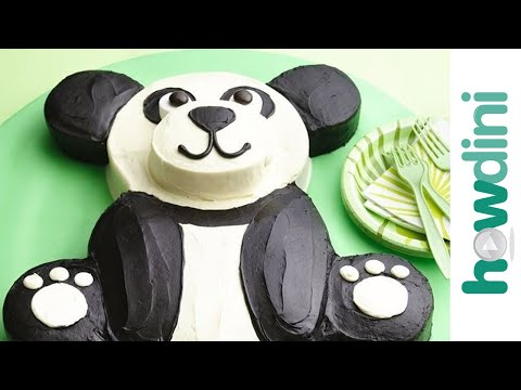 How to make a panda cake - Panda bear birthday cake, http://bit.ly/betty_crocker_birthdays How to make a panda cake - Panda bear birthday cake Whether your little one is into a Kung Fu panda or just a cuddly on...