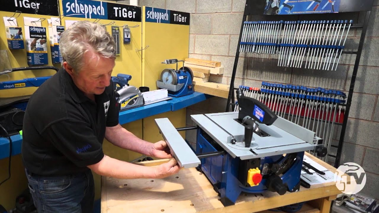 scheppach hs80 table top saw a toolstop review youtube. Black Bedroom Furniture Sets. Home Design Ideas