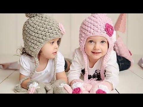 Hướng dẫn móc nón len họa tiết cho bé p3