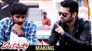 Pandaga Chesko Telugu Movie Making – Ram,Rakul Preet