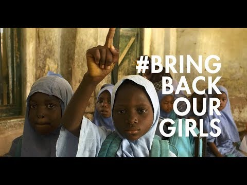 Education is our most powerful weapon #BringBackOurGirls