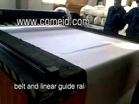 COMEID Textile Laser Cutting Machine with Auto Feeding System