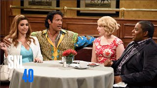SNL: Dinner Date ft Dwayne Johnson