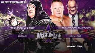 2014: Undertaker Vs. Brock Lesnar WWE Wrestlemania 30