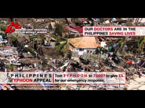 MSF Philippines Typhoon Haiyan Emergency Appeal