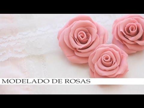 Modelado de rosas para plastilina barro ceramica fria for Ceramica para modelar