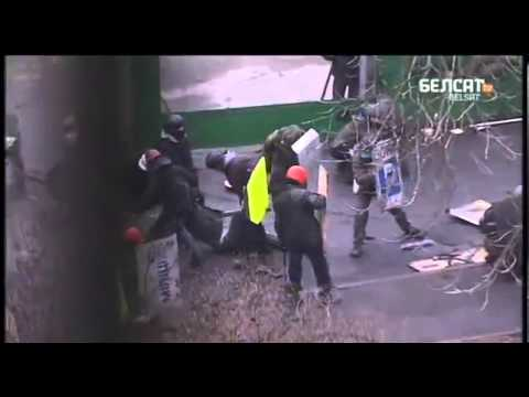 Government Snipers in the streets of Kyiv Kill Protesters 20 02 14