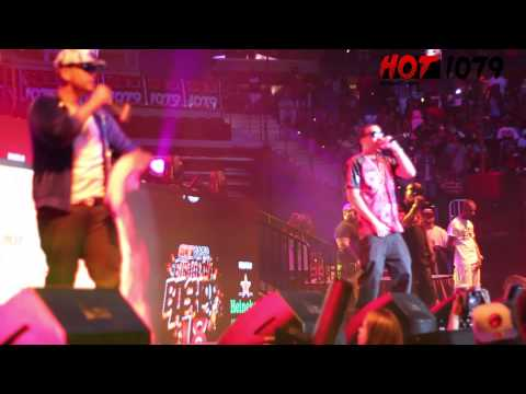 FRENCH MONTANA & DJ DRAMA LIVE PERFORMANCE @ HOT 107.9FM ATLANTA BIRTHDAY BASH 18