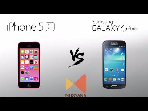 iPhone 5C vs Samsung Galaxy s4 mini
