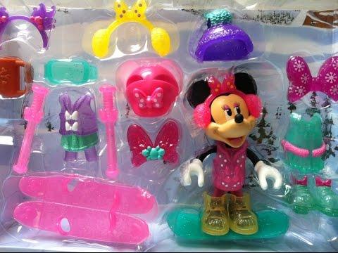 Đồ Chơi Chuột Minnie Trượt Tuyết (Bí Đỏ)/Minnie Mouse Winter Bowtique Play Set From Disney