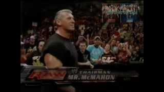 WWE Luta Livre Na TV SBT (Ric Flair Vs Mr McMahon) In A