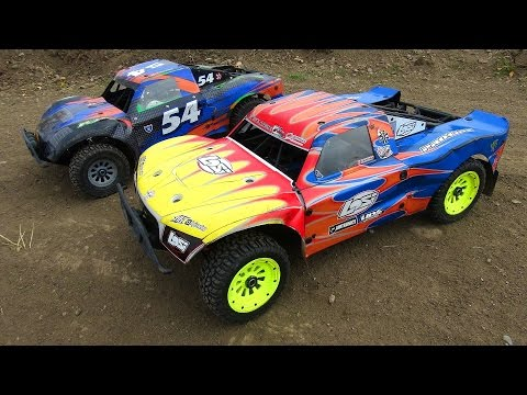 RC ADVENTURES - The BiG DiRTY 2014 - Losi 5T 4x4 Trucks Bash Up & Mash-UP! Heats 1-4