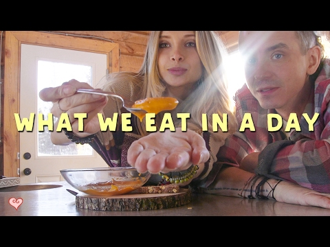 What I Eat In A Day ♥ Healthy Vegan Comfort Food | Rocky Mountains