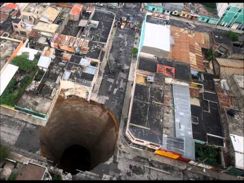 Terrifying deadly SINKHOLES compilation!  Natural disasters