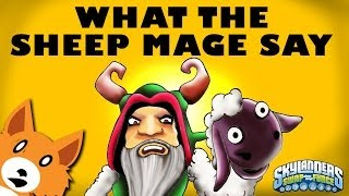 What Does The Sheep Mage Say? (What Does The Fox Say