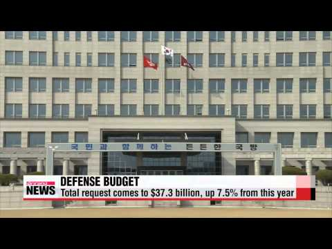 Korea's defense ministry submits 2015 defense budget proposal