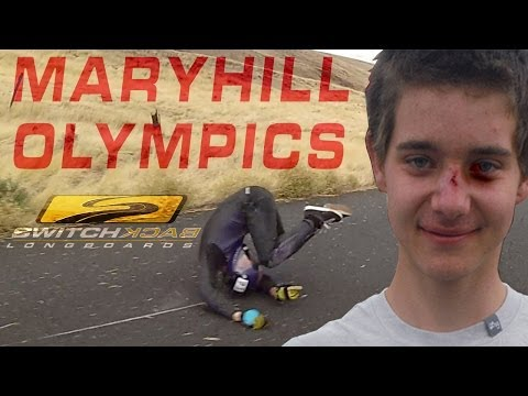 2013 MARYHILL OLYMPICS -  SWITCHBACK LONGBOARDS