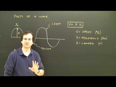 Physics Tutorial Lesson:  Waves Introduction High School College Help