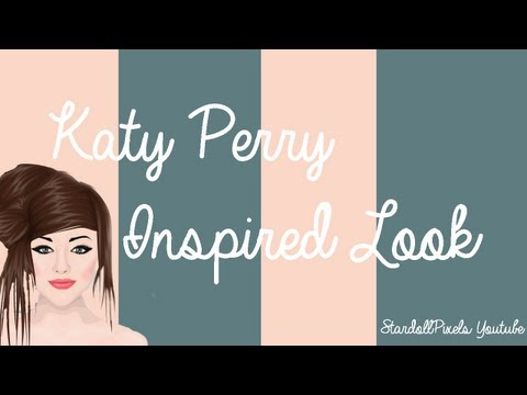 Stardoll Katy Perry INSPIRED tutorial/look