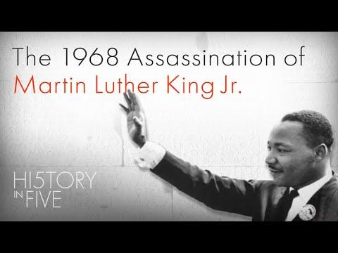 4 Април 1968 е убит Мартин Лутер Кинг Джуниър