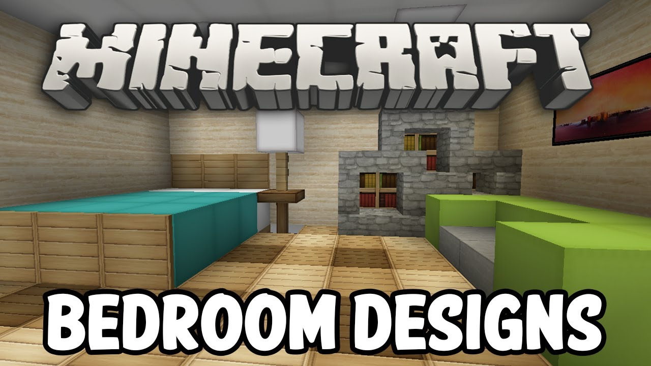 Minecraft interior design bedroom edition youtube for Bedroom ideas on minecraft