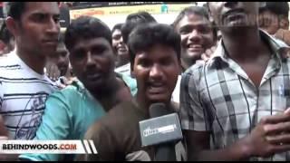 Vijay Fans protest - Thalaiva Release delayed விஜய் நடித்த
